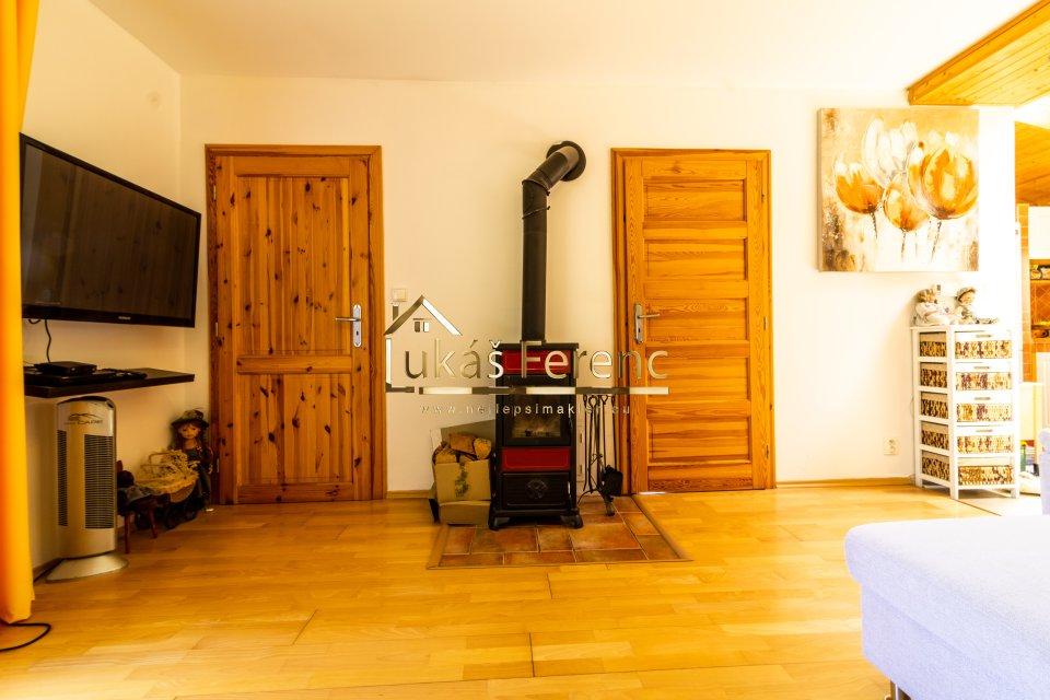obývací pokoj - krbová kamna